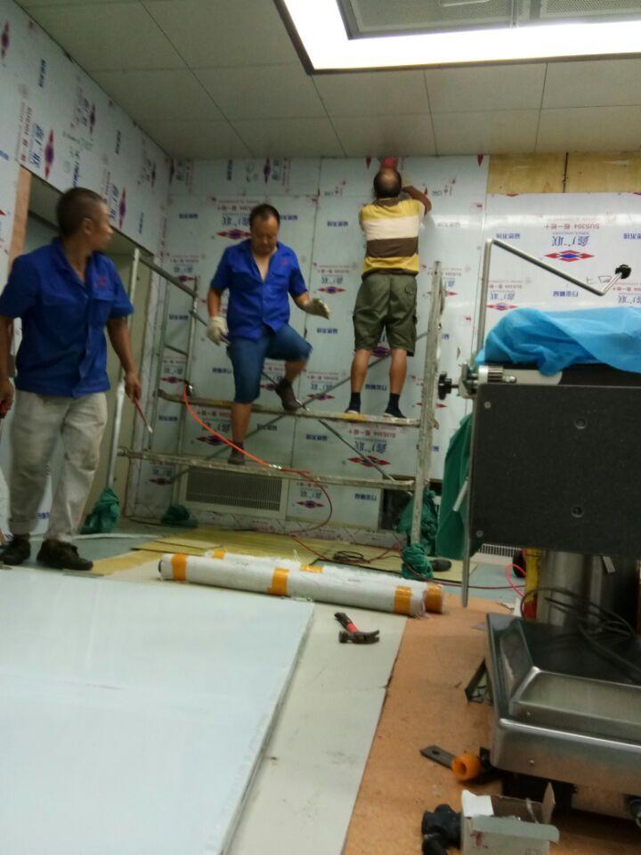 手术室墙壁铅板防护施工